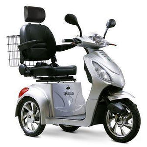 EWheels EW-36 Three Wheel Electric Mobility Scooter (silver)
