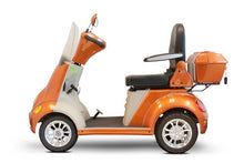 Load image into Gallery viewer, EWheels EW-52 Four Wheel Designer Electric Mobility Scooter (orange)