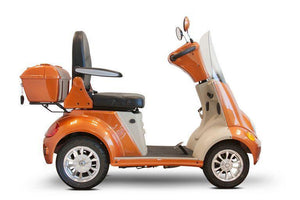 EWheels EW-52 Four Wheel Designer Electric Mobility Scooter (orange)