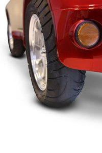 rear tire of EWheels EW-52 Four Wheel Designer Electric Mobility Scooter