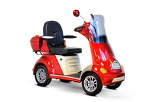 Load image into Gallery viewer, EWheels EW-52 Four Wheel Designer Electric Mobility Scooter (red)