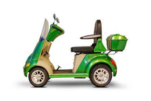 Load image into Gallery viewer, EWheels EW-52 Four Wheel Designer Electric Mobility Scooter (green)