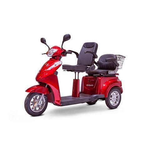 EW-66  2 Passenger 3-Wheel Mobility Scooter