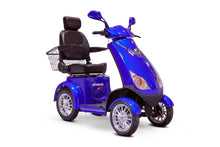 Load image into Gallery viewer, EWheels EW-72 4 Wheel Electric Mobility Scooter (blue)