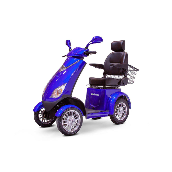 EWheels EW-72 4 Wheel Electric Mobility Scooter(blue)