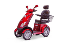 Load image into Gallery viewer, EWheels EW-72 4 Wheel Electric Mobility Scooter (red)