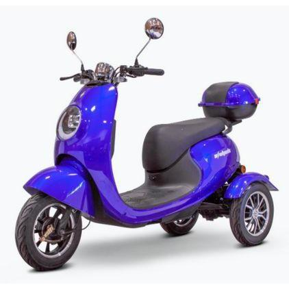 EWheels EW-Bugeye 3-Wheel Mobility Scooter (blue)