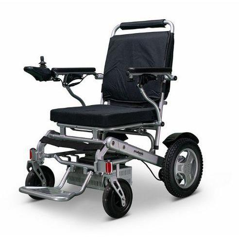 EWheels EW-M45 Folding Lighweight Power Wheelchair (silver)