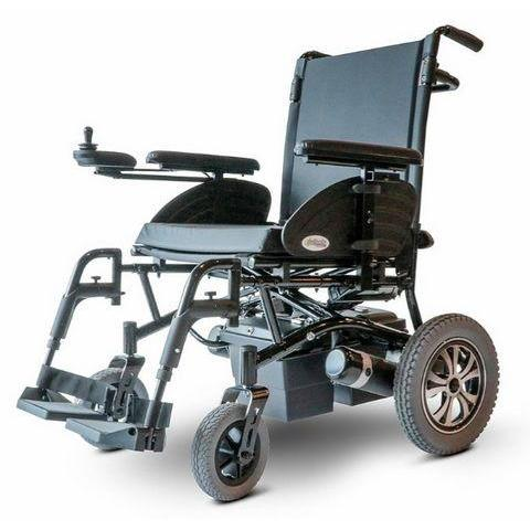EWheels EW-M47 Folding Power Wheelchair (black)