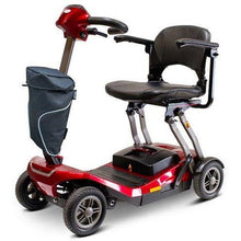 Load image into Gallery viewer, E-Wheels EW-REMO Auto-Flex Folding Travel Four Wheel Electric Scooter-Red-EW-REMO R-Ride and Go Electrics