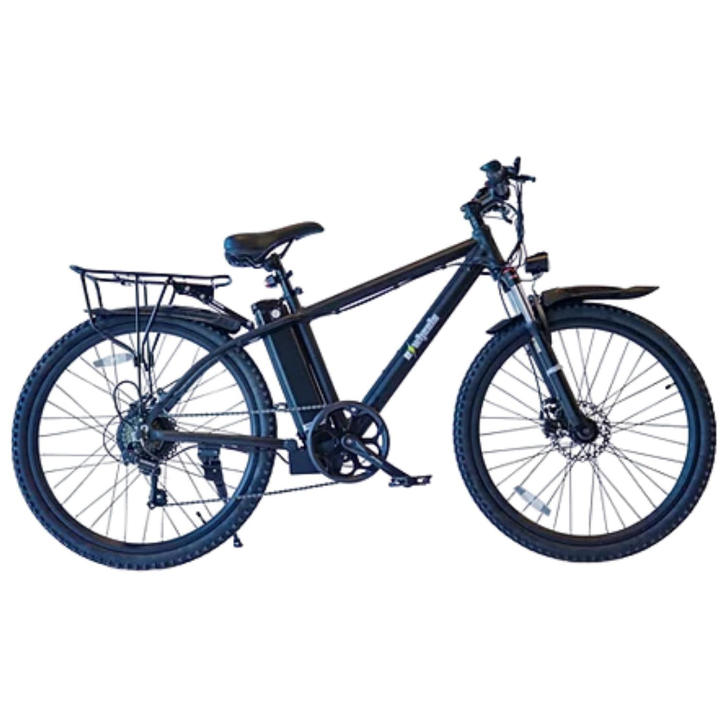 E-Wheels EW-Rugged Electric Mountain Bike-Black-EW-RUGGED BLACK-Ride and Go Electrics
