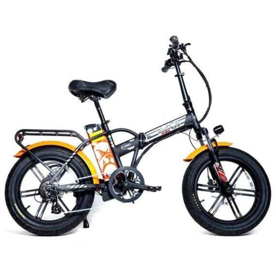 Big Dog Extreme Fat Tire Electric Bike (black/orange)
