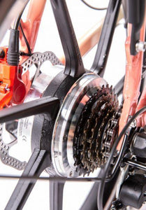 6-speed Shimano gear system