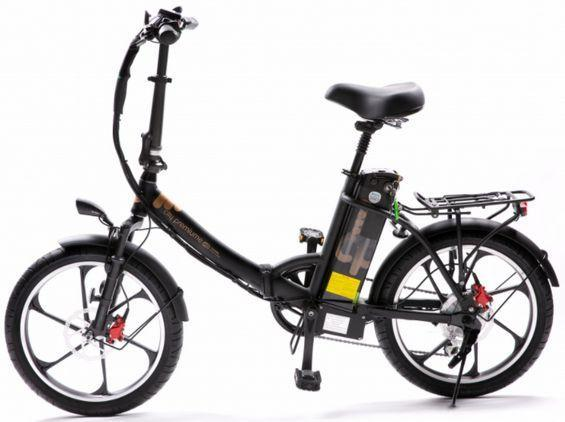 2021 City Premium Folding Electric Bike (black)