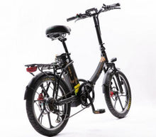 Load image into Gallery viewer, City Premium Folding Electric Bike (black)