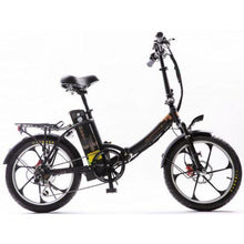 Load image into Gallery viewer, GreenBike Electric Motion 2021 City Premium Folding Electric Bike (black)