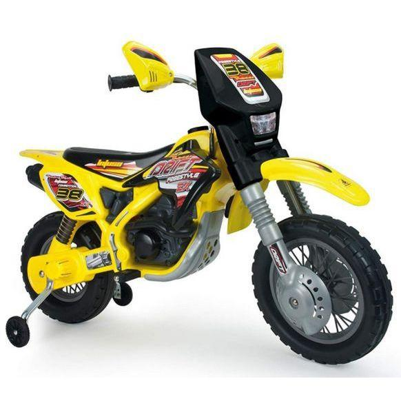 Injusa Motocross Drift ZX Kids Dirt Bike 12v