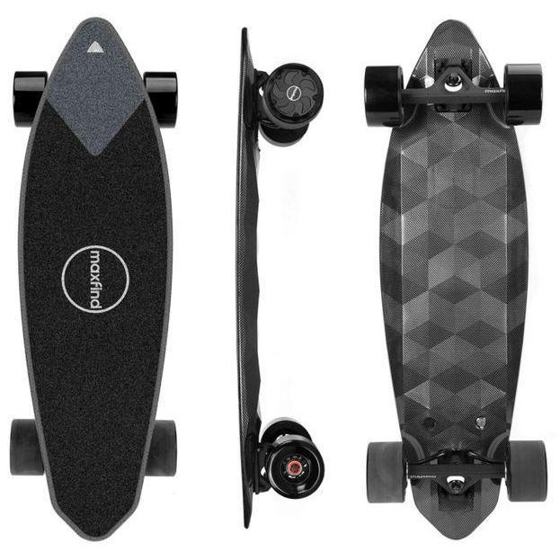 Maxfind Max2 Pro Electric Skateboard-Maxfind Max2 Pro Electric Skateboard Dual Edition-Ride and Go Electrics