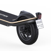 Load image into Gallery viewer, rear brake and light of Megawheels S11X Electric Scooter