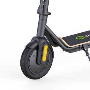 front wheel of Megawheels S11X Electric Scooter