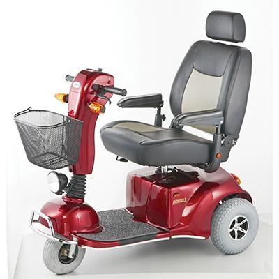 Merits Pioneer 9 S331 3-Wheel Bariatric Mobility Scooter