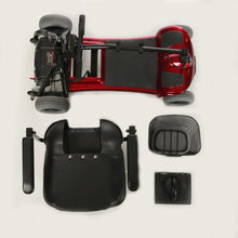 Load image into Gallery viewer, disassembled Merits Roadster 4 S740 4-Wheel Portable Mobility Scooter