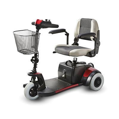 Merits S539 3-Wheel Mini-Coupe Scooter