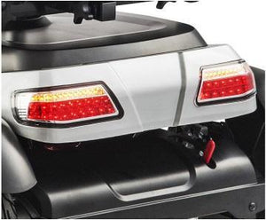 Merits Silverado 4-Wheel Full Suspension Electric Scooter S941A tail lights