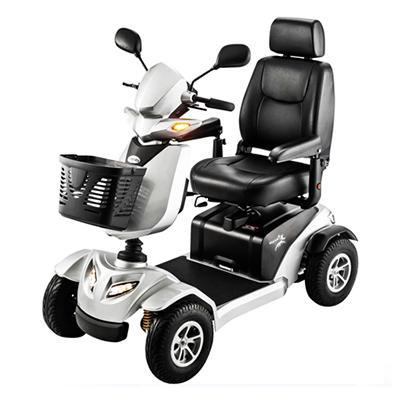 Merits Silverado 4-Wheel Full Suspension Electric Scooter S941A
