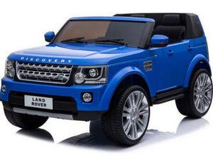 Mini Moto Land Rover Discovery 12v blue