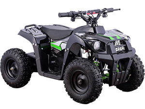 MotoTec 36v 500w Kids ATV Monster v6 Blue-Black-MT-ATV6_Black-Ride and Go Electrics