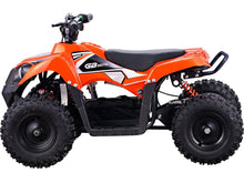 Load image into Gallery viewer, MotoTec 36v 500w Kids ATV Monster v6 Blue--Ride and Go Electrics