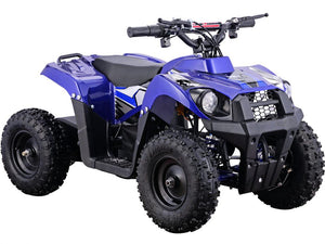MotoTec 36v 500w Kids ATV Monster v6 Blue-Blue-MT-ATV6_Blue-Ride and Go Electrics