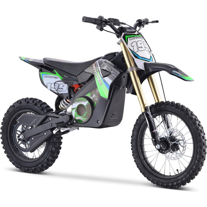 MotoTec 48v Pro Electric Dirt Bike 1500w Lithium