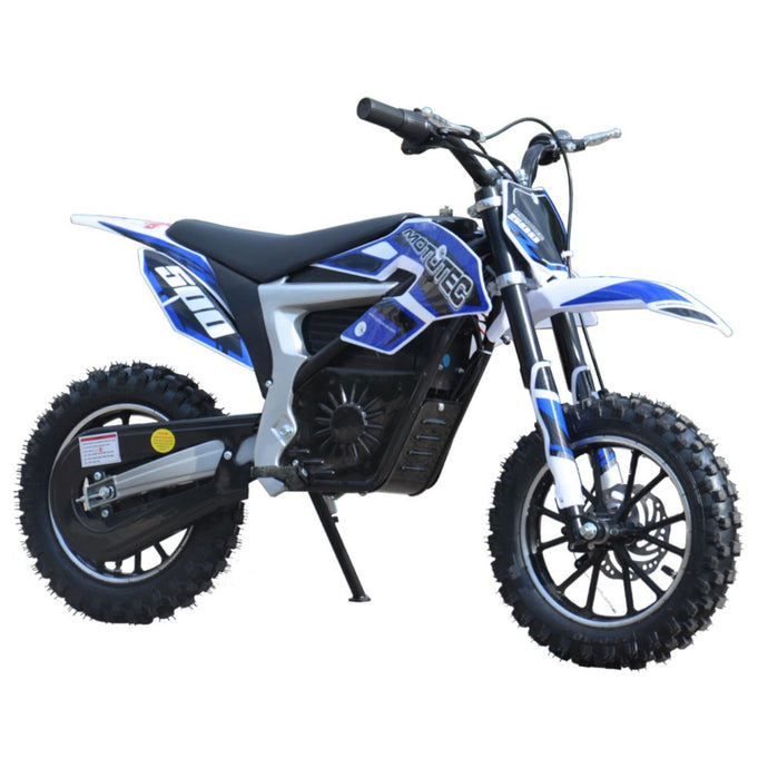 MotoTec Electric Dirt Bike 36v 500w Lithium-Ride and Go Electrics