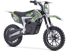 Load image into Gallery viewer, MotoTec Demon Kids Electric Dirt Bike 36v 500w-Green-MT-Dirt-Lithium_Green-Ride and Go Electrics