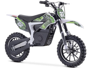 MotoTec Demon Kids Electric Dirt Bike 36v 500w-Green-MT-Dirt-Lithium_Green-Ride and Go Electrics
