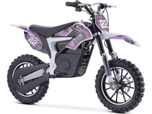 Load image into Gallery viewer, MotoTec Demon Kids Electric Dirt Bike 36v 500w-Purple-MT-Dirt-Lithium_Purple-Ride and Go Electrics