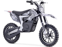 Load image into Gallery viewer, MotoTec Demon Kids Electric Dirt Bike 36v 500w-White-MT-Dirt-Lithium_White-Ride and Go Electrics
