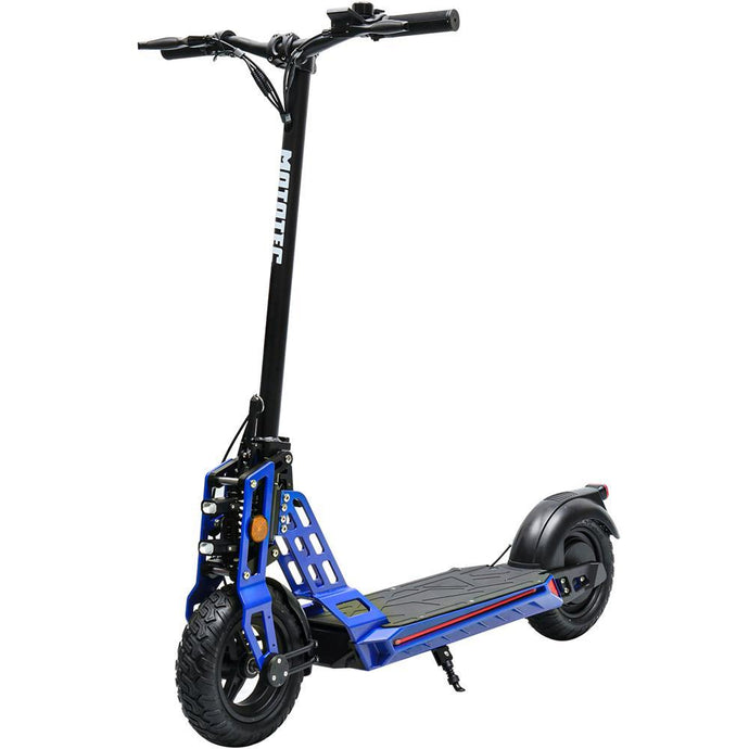 MotoTec Free Ride 48v 500w Lithium Electric Scooter (blue)
