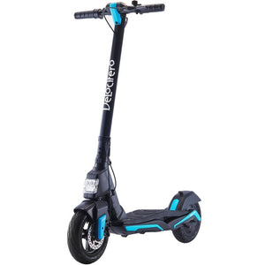 MotoTec Mad Air 36v 10ah 350w Lithium Electric Scooter-Blue-Ride and Go Electrics
