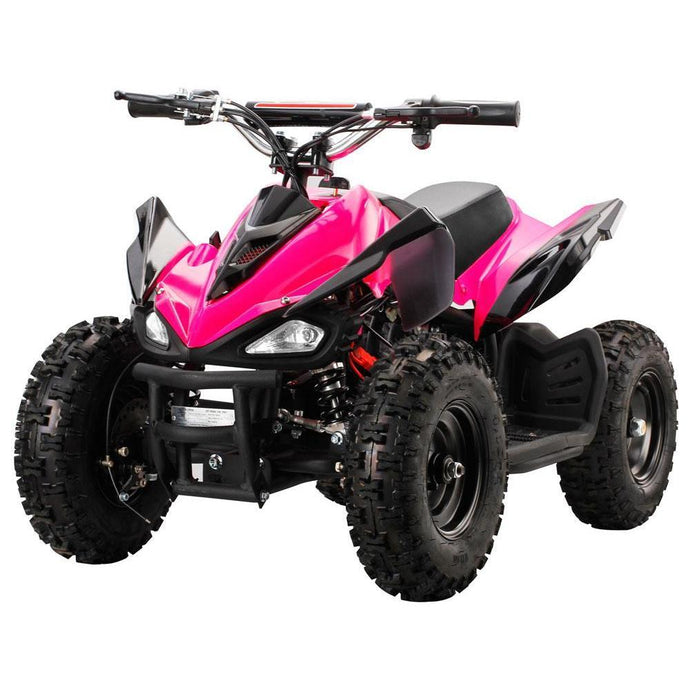 MotoTec Mini Quad v2-Blue-Ride and Go Electrics