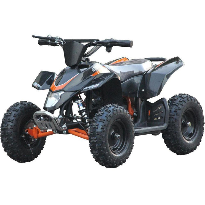MotoTec Mini Quad v3-Black-Ride and Go Electrics