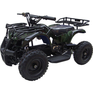 MotoTec Mini Quad v4-Camo-Ride and Go Electrics