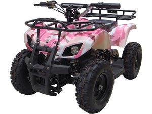 MotoTec Mini Quad v4-Pink-Ride and Go Electrics