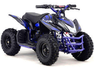 MotoTec Mini Quad v5-Blue-Ride and Go Electrics