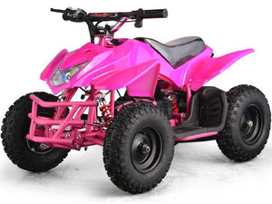 MotoTec Mini Quad v5-Pink-Ride and Go Electrics
