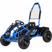 Load image into Gallery viewer, MotoTec Mud Monster 48v 1000w Electric Kids Off Road Go Kart-Blue-MT-GK-Mud-1000w_Blue-Ride and Go Electrics