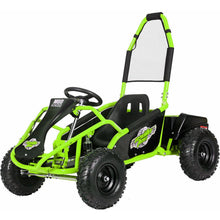 Load image into Gallery viewer, MotoTec Mud Monster 48v 1000w Electric Kids Off Road Go Kart-Green-MT-GK-Mud-1000w_Green-Ride and Go Electrics