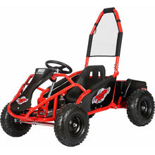 Load image into Gallery viewer, MotoTec Mud Monster 48v 1000w Electric Kids Off Road Go Kart-Red-MT-GK-Mud-1000w_Red-Ride and Go Electrics